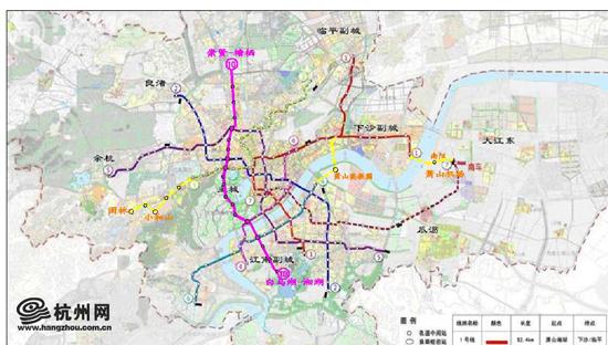 对地铁规划的建议 - 杭网议事厅 - 杭州网