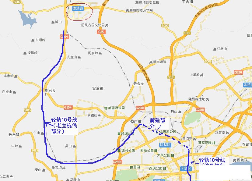 最近看到了南京、合肥等地计划将部分市区老铁路线废弃改造为城市轻轨线路的新闻,杭州也有这样的条件。  随着杭州火车东站即将建成,高铁将转移至火车东站,普速车可以同时使用东站和南站。现有的城站和沪混老线运力将得到释放。  杭州政府可以与上海铁路局谈判收购城站和现有杭州部分沪昆绕行老铁路线,将其改造为轻轨。这部分铁路从杭州繁华城区穿城而过,严重分割了杭州城东和城西地区,影响城市功能,影响钱江新城与老城的融合。  充分利用老旧铁路,可以快速建成轻轨线路,大大缓解杭州交通拥堵;同时使城站